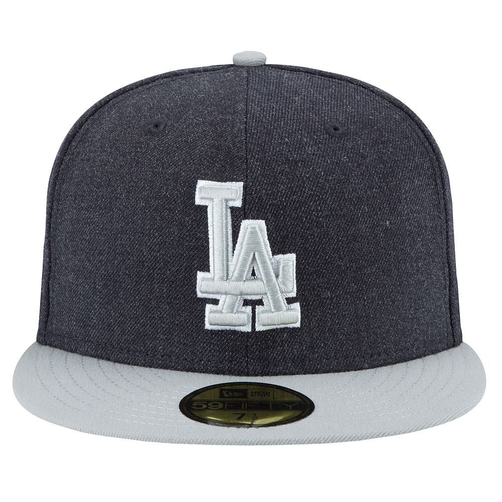 "Dodgers ""Heather Grey"" Fitted Hat - Los Angeles Source  - 2"