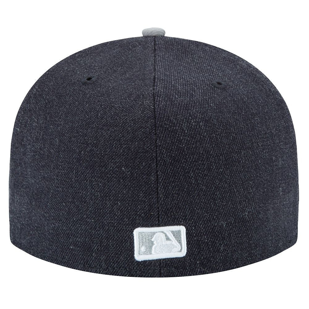 "Dodgers ""Heather Grey"" Fitted Hat - Los Angeles Source  - 4"