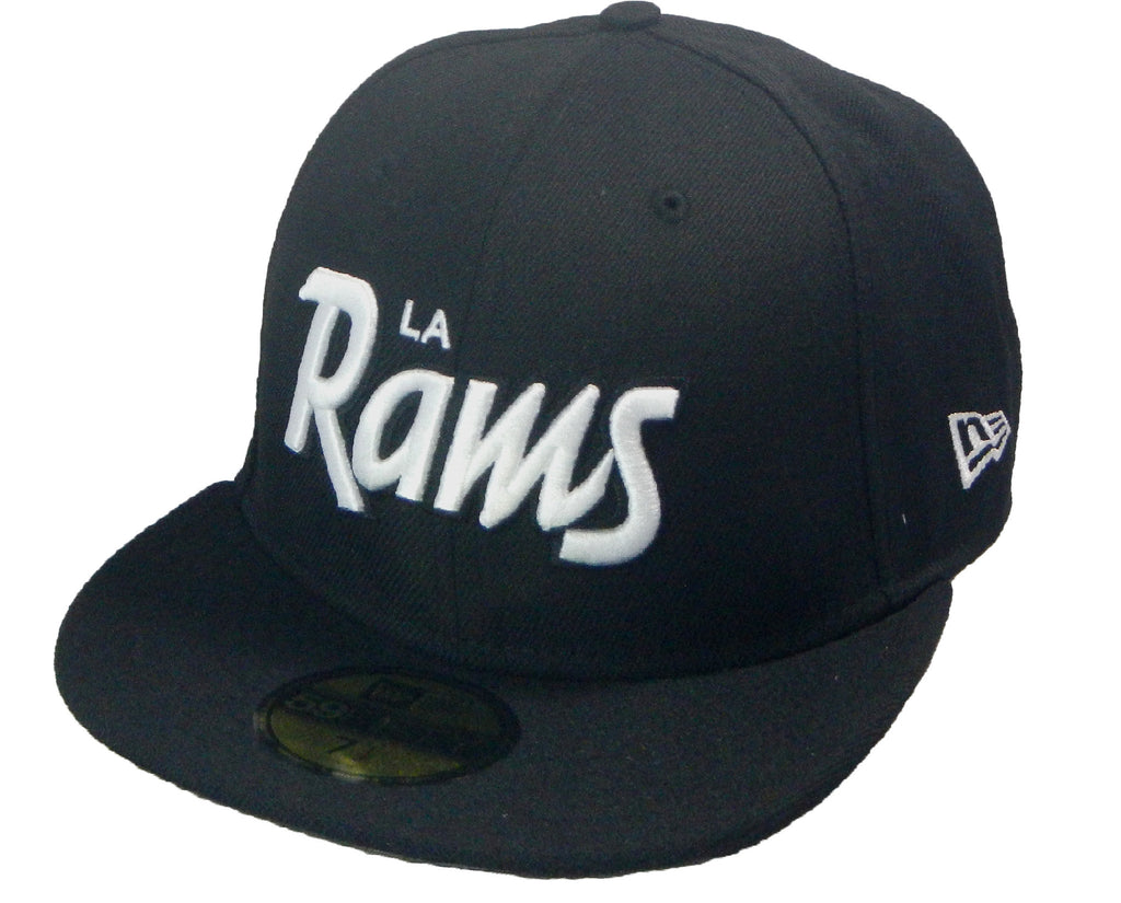 "LA Rams ""Script"" Fitted Hat - Los Angeles Source  - 2"