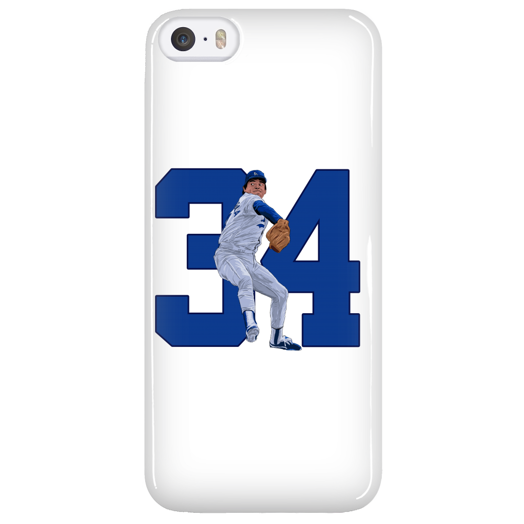 "Fernando Valenzuela ""El Torro"" Phone Case - Los Angeles Source  - 3"