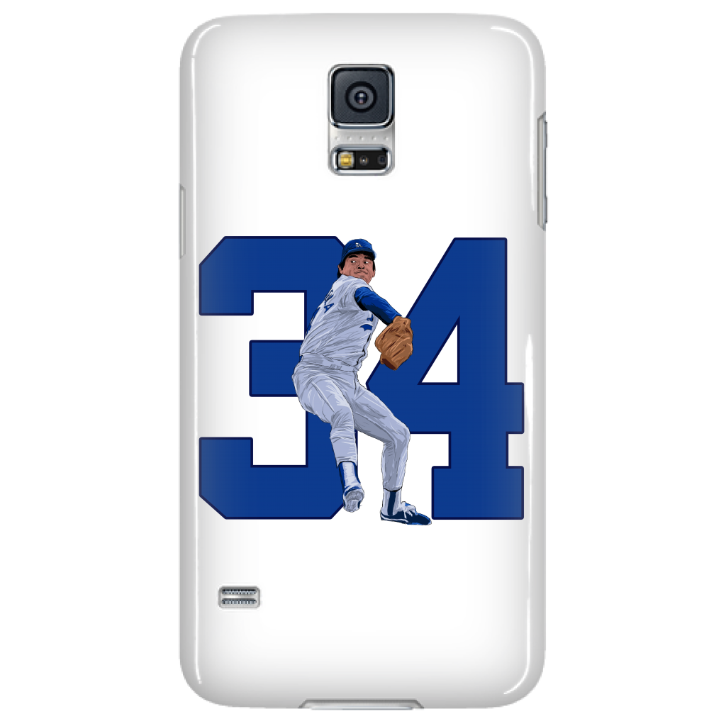 "Fernando Valenzuela ""El Torro"" Phone Case - Los Angeles Source  - 4"