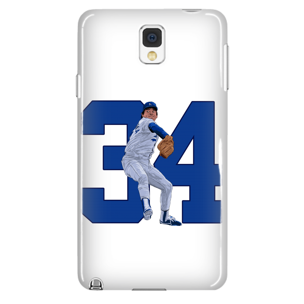 "Fernando Valenzuela ""El Torro"" Phone Case - Los Angeles Source  - 5"