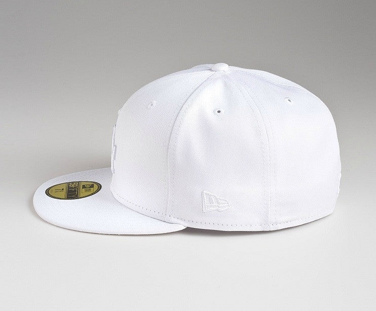 "Dodgers ""White on White"" Fitted Hat - Los Angeles Source  - 3"