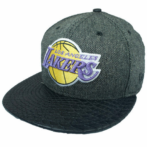 "Lakers ""HWC Slither Tweed"" StrapBack - Los Angeles Source  - 1"