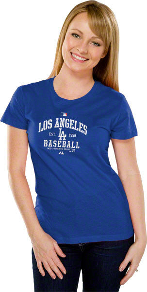 "Dodgers ""MLB Est 1958"" Shirt - Los Angeles Source  - 2"