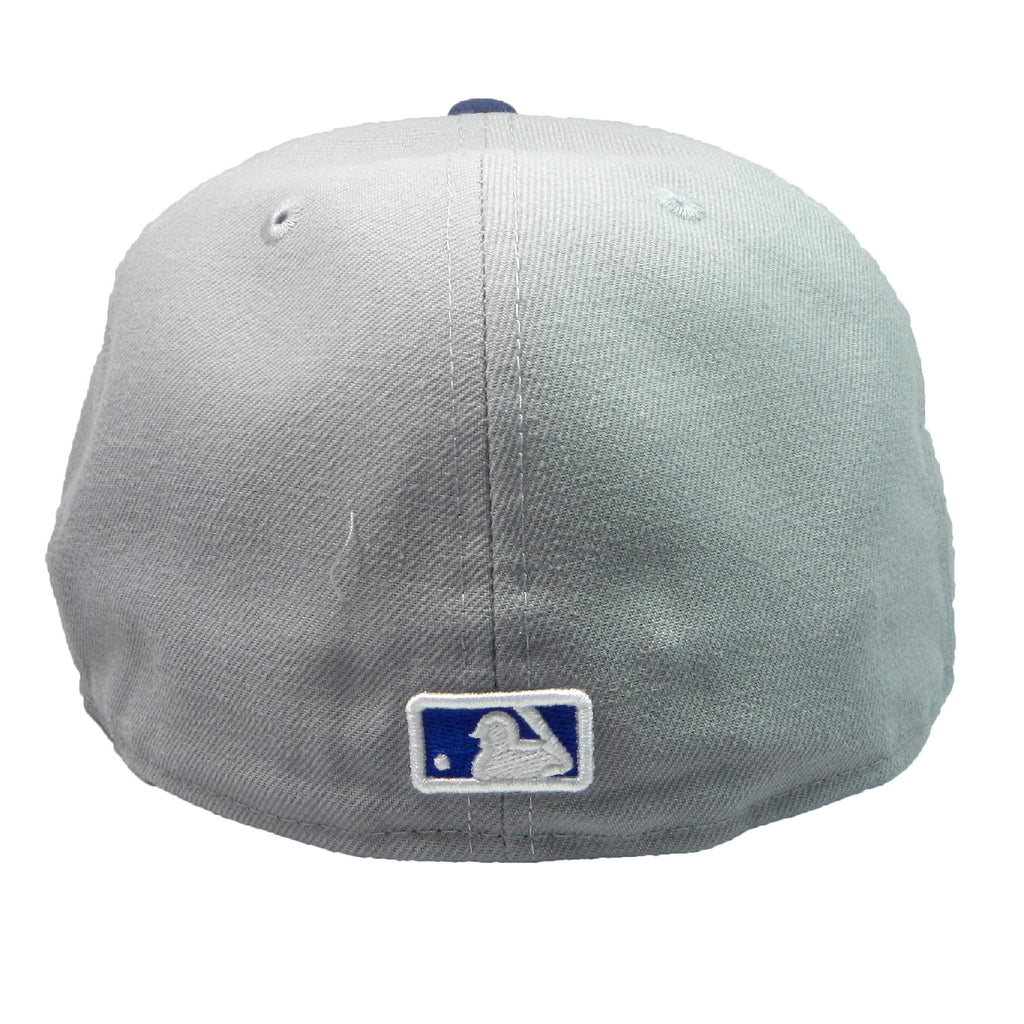 "OKC Dodgers ""D-Logo"" Fitted Hat - Grey/Blue - Los Angeles Source  - 4"