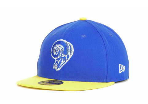 "LA Rams ""On The Field"" Fitted Hat - Youth - Los Angeles Source  - 1"
