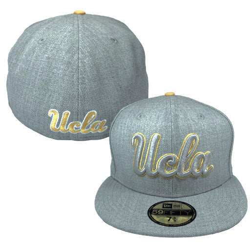 "UCLA Bruins ""Heather"" Fitted Hat - Los Angeles Source  - 1"