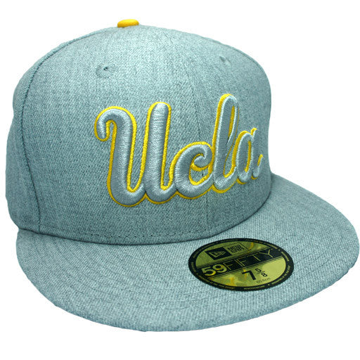 "UCLA Bruins ""Heather"" Fitted Hat - Los Angeles Source  - 3"