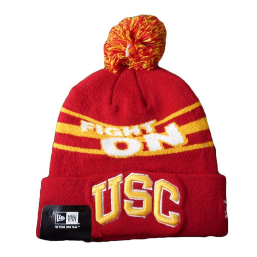 a4f6d123b19 promo code for new era usc trojans fight on pom beanie los angeles source  86ecd 097ce