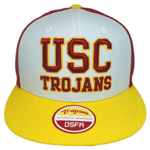 "USC Trojans ""3-Tone"" SnapBack - Los Angeles Source  - 1"