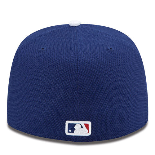 "Dodgers ""Diamond Era"" Fitted Hat - Blue - Los Angeles Source  - 3"