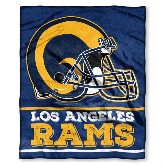 "LA Rams ""Silk Touch"" 50""x60"" Throw - Los Angeles Source"