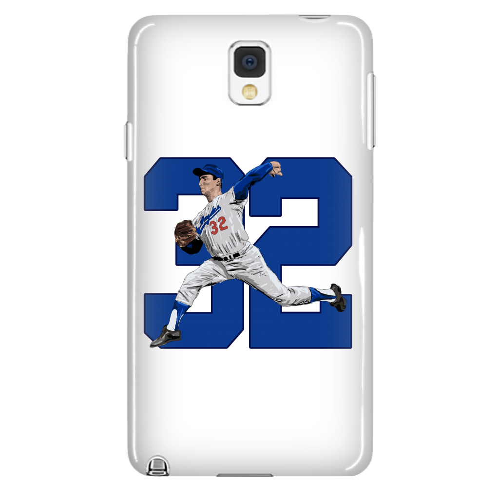 "Sandy Koufax ""The Left Arm of God"" Phone Case - Los Angeles Source  - 2"