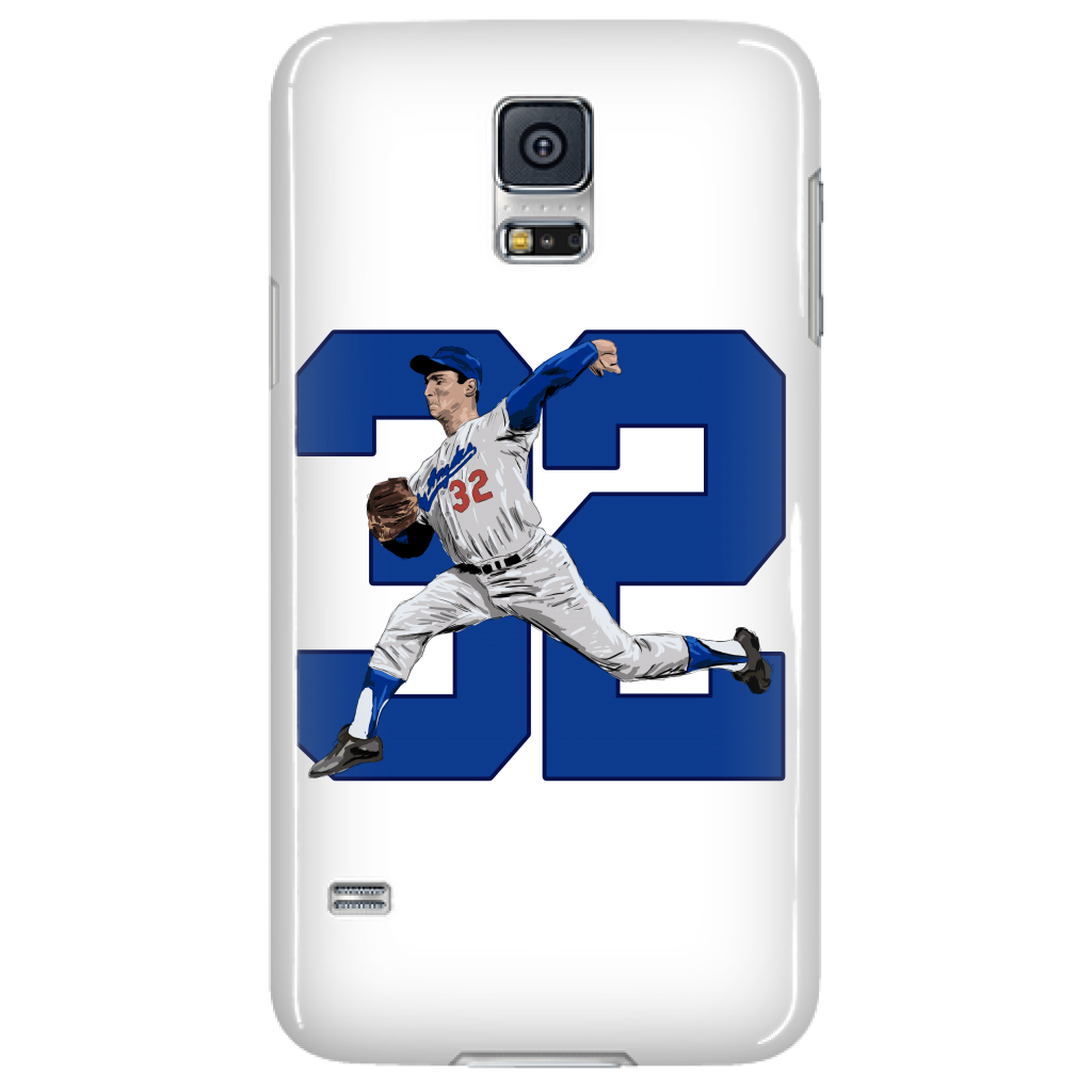 "Sandy Koufax ""The Left Arm of God"" Phone Case - Los Angeles Source  - 3"