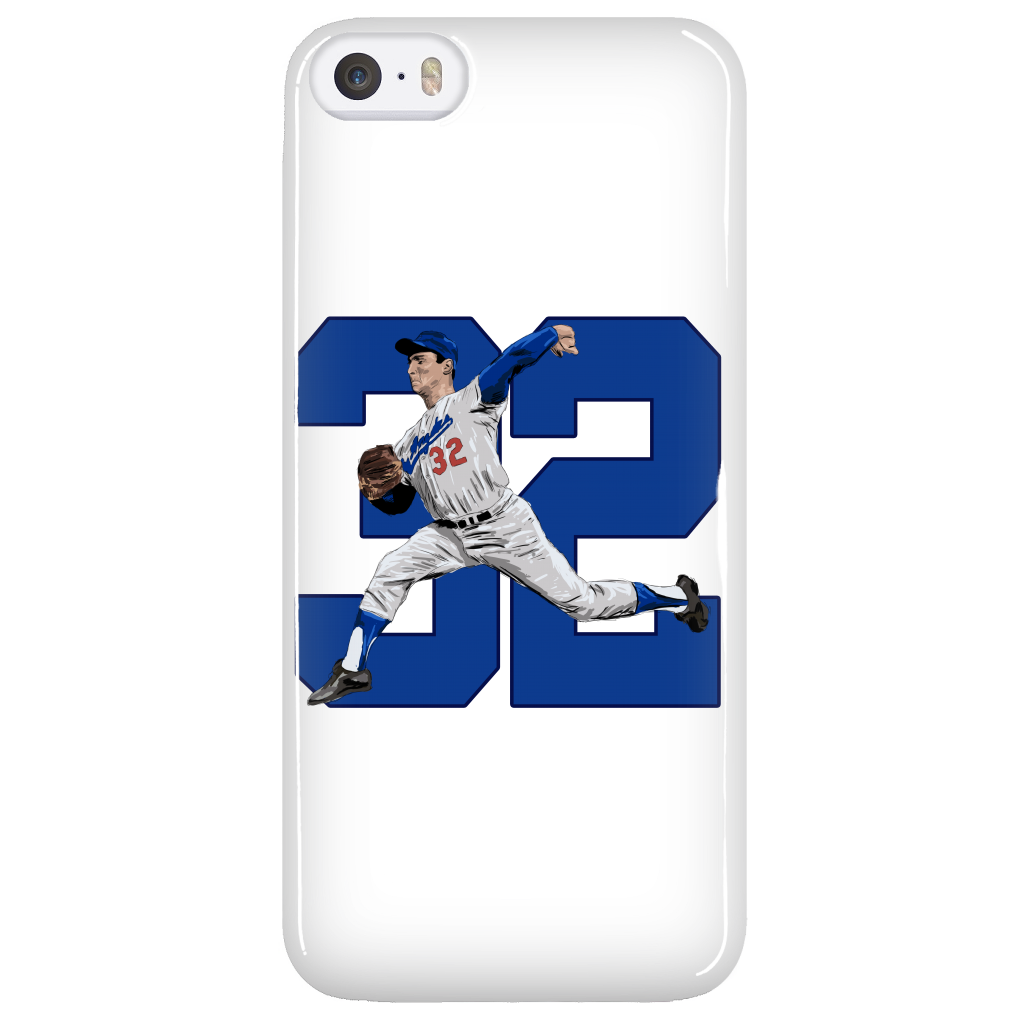 "Sandy Koufax ""The Left Arm of God"" Phone Case - Los Angeles Source  - 4"
