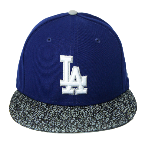 "Dodgers ""Metric Viz"" Fitted Hat - Los Angeles Source  - 2"