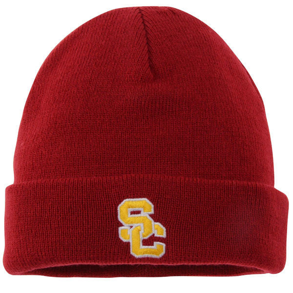 "USC Trojans ""Cardinal Cuffed"" Knit Beanie - Los Angeles Source  - 1"