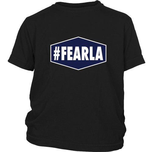 "Dodgers ""#FEARLA"" Youth Shirt - Los Angeles Source  - 5"