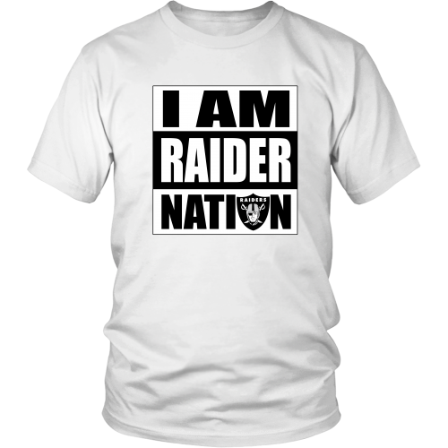 "Raiders ""I Am Raider Nation"" Shirt - Los Angeles Source  - 1"