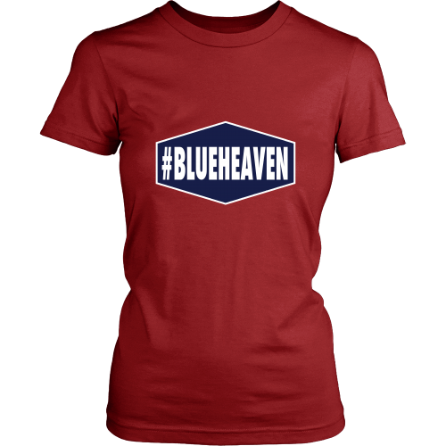"Dodgers ""#BLUEHEAVEN"" Women's Shirt - Los Angeles Source  - 7"