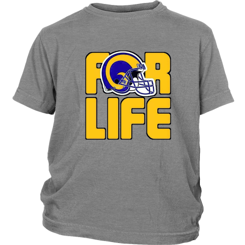 "LA Rams ""For Life"" Youth Shirt - Los Angeles Source  - 4"