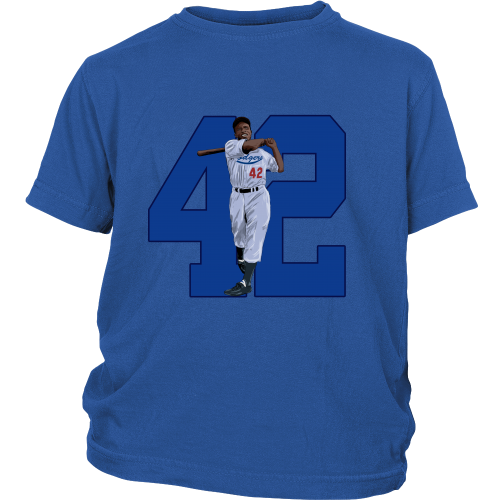 "Jackie Robinson ""Game Changer"" Youth Shirt - Los Angeles Source  - 2"