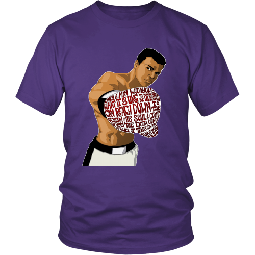 "Muhammed Ali ""Heart of a Champion"" Shirt - Los Angeles Source  - 5"