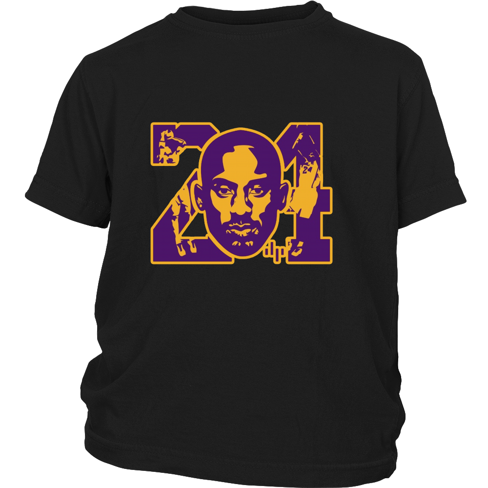 "Kobe Bryant ""KB24"" Youth Shirt - Los Angeles Source  - 4"