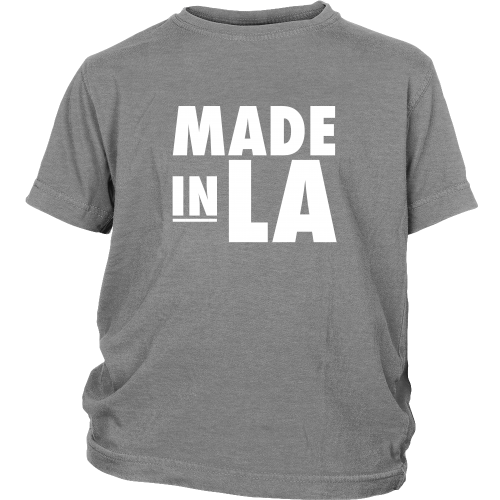 "Los Angeles ""Made In LA"" Youth Shirt - Los Angeles Source  - 1"