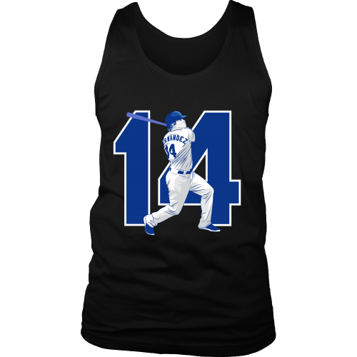 "Enrique Hernandez ""Kike"" Tank Top - Los Angeles Source  - 4"