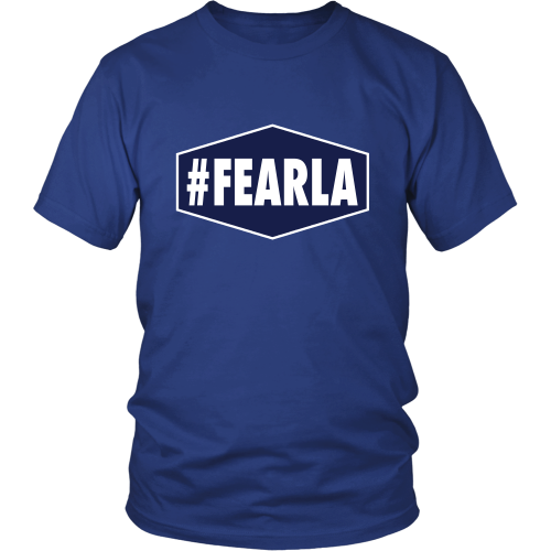 "Dodgers ""#FEARLA"" Shirt - Los Angeles Source  - 2"