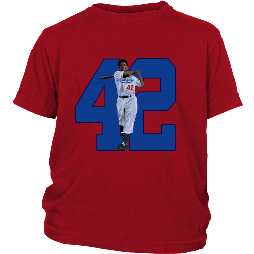 "Jackie Robinson ""Game Changer"" Youth Shirt - Los Angeles Source  - 3"