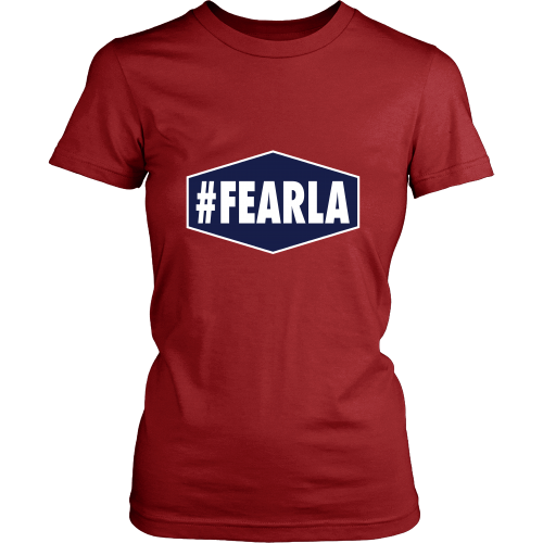 "Dodgers ""#FEARLA"" Women's Shirt - Los Angeles Source  - 7"