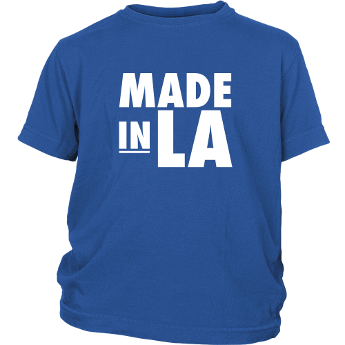 "Los Angeles ""Made In LA"" Youth Shirt - Los Angeles Source  - 2"