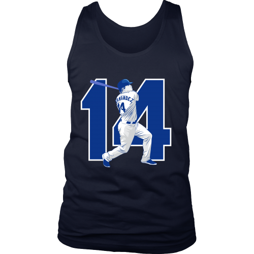 "Enrique Hernandez ""Kike"" Tank Top - Los Angeles Source  - 3"