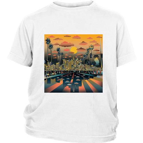 "Los Angeles ""Vibe"" Youth Shirt - Los Angeles Source  - 2"