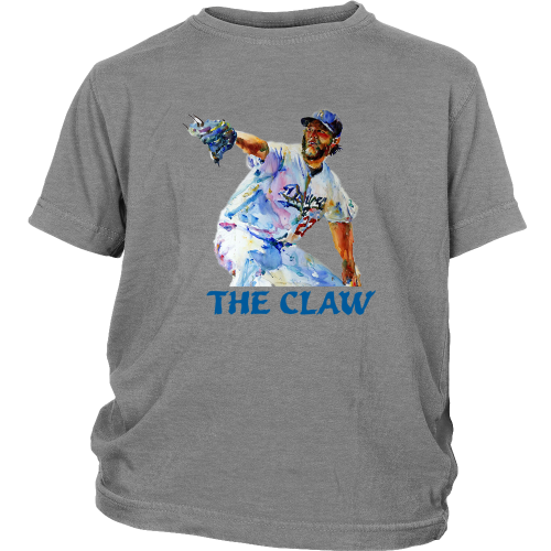 "Clayton Kershaw ""The Claw"" Youth Shirt - Los Angeles Source  - 4"
