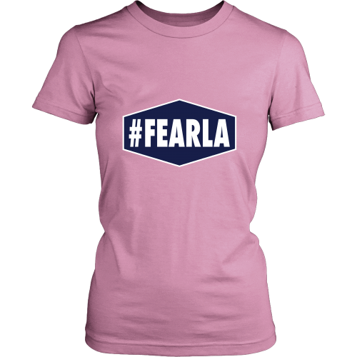 "Dodgers ""#FEARLA"" Women's Shirt - Los Angeles Source  - 1"