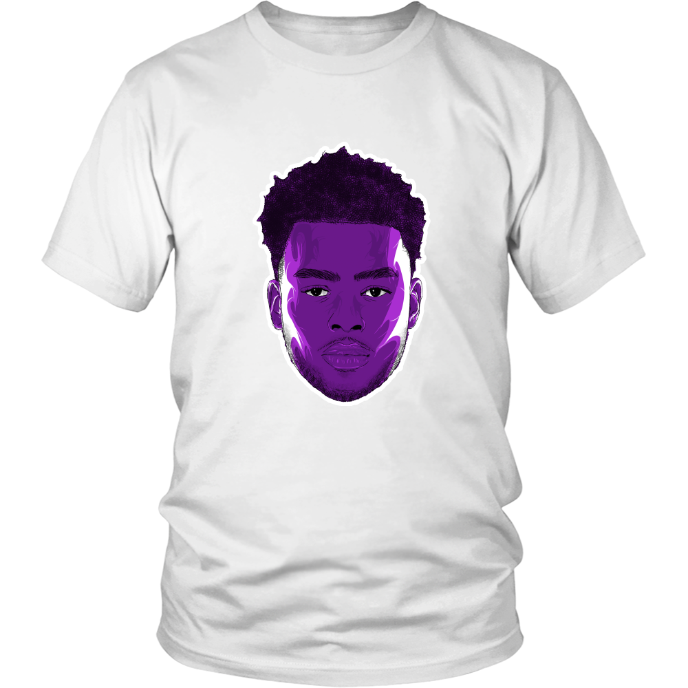 "D'Angelo Russell ""The Future"" Shirt - Los Angeles Source  - 2"