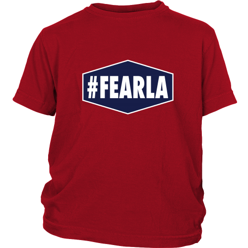 "Dodgers ""#FEARLA"" Youth Shirt - Los Angeles Source  - 4"
