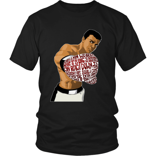 "Muhammed Ali ""Heart of a Champion"" Shirt - Los Angeles Source  - 1"