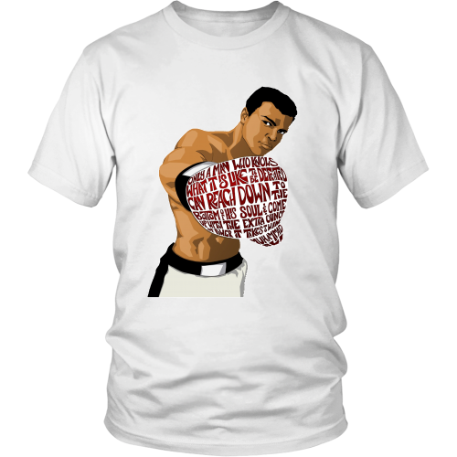 "Muhammed Ali ""Heart of a Champion"" Shirt - Los Angeles Source  - 2"