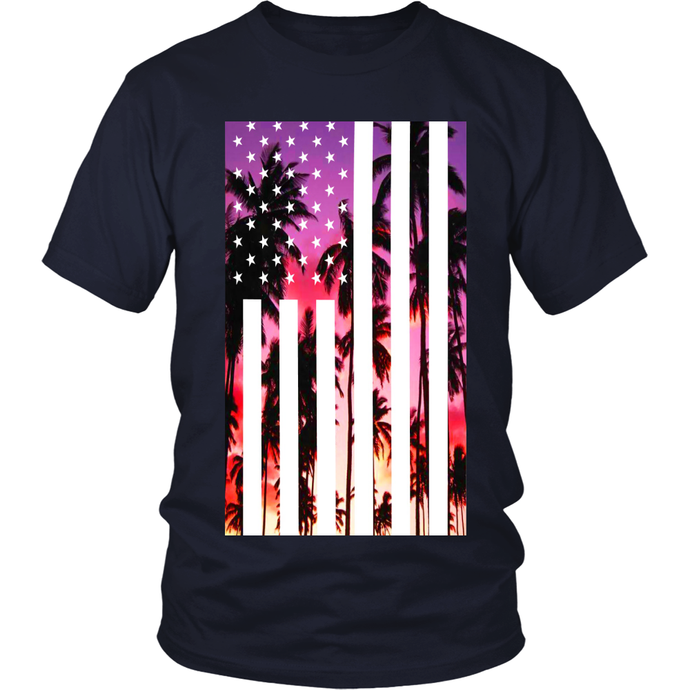 "Los Angeles ""Palm Tree U.S.A."" Shirt - Los Angeles Source  - 7"