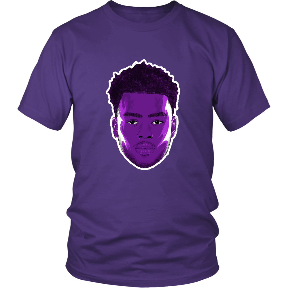 "D'Angelo Russell ""The Future"" Shirt - Los Angeles Source  - 1"