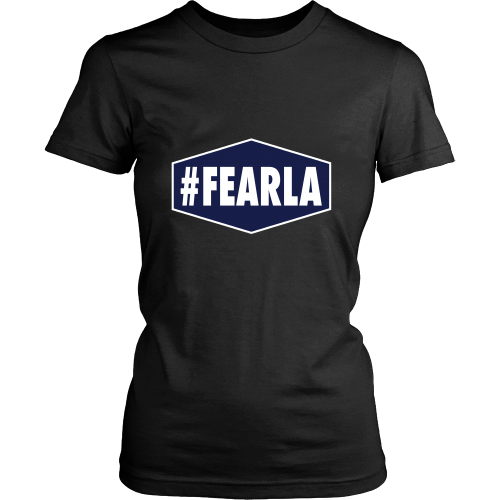 "Dodgers ""#FEARLA"" Women's Shirt - Los Angeles Source  - 3"