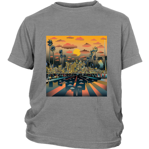 "Los Angeles ""Vibe"" Youth Shirt - Los Angeles Source  - 5"