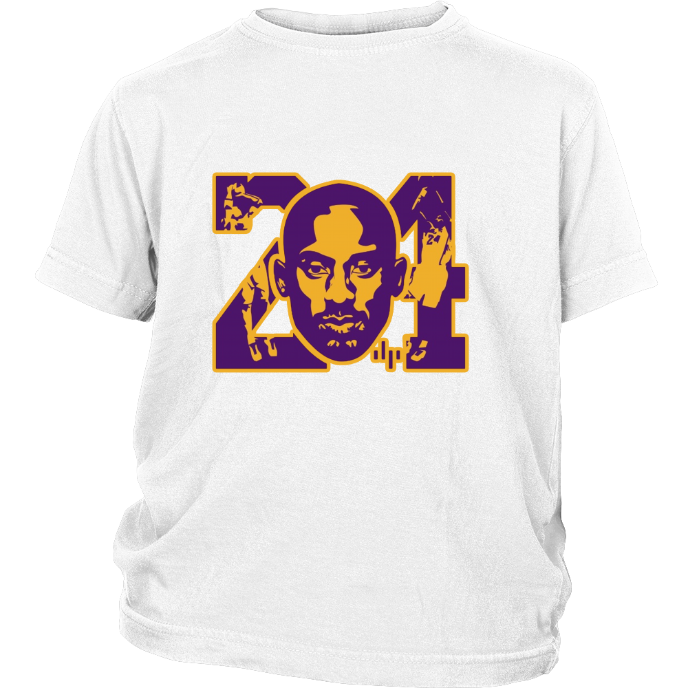 "Kobe Bryant ""KB24"" Youth Shirt - Los Angeles Source  - 2"