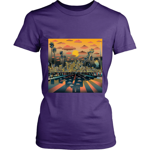 "Los Angeles ""Vibe"" Women's Shirt - Los Angeles Source  - 3"
