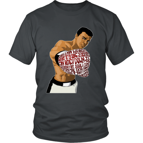 "Muhammed Ali ""Heart of a Champion"" Shirt - Los Angeles Source  - 7"